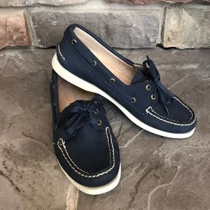 Sperry Top-Sider for J. Crew• Navy Sz. 8